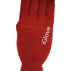 Manusi de iarna pentru touch screen, iGlove, Rosii