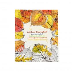 Carte de colorat pentru adulti, Anti Stres, 25 x 21 cm , 60 file