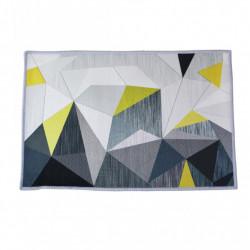 Covoras de Bucatarie, anti alunecare, cu margini sufilate, Abstract, 50 x 80 cm