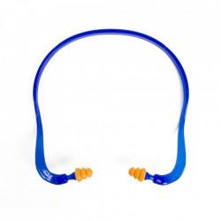 Dopuri de protectie pentru praf si zgomot cu rama ergonomica, albastru