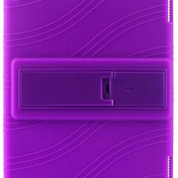 Husa compatibila cu Huawei MediaPad T5, 10.1 inch, TPU cu stand - Mov