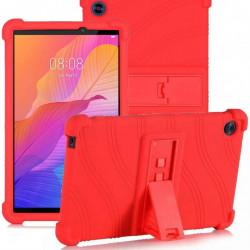 Husa compatibila cu tableta Huawei MatePad T8 TPU cu stand - Rosu