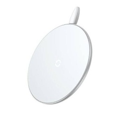 Incarcator wireless Baseus 10W Qi Fast charging, White Edition
