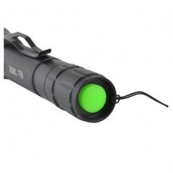 Lanterna Militara LED Cree W5, 2000W, neagra