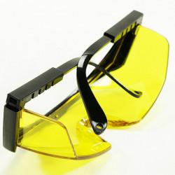 Ochelari de protectie pentru polizat galbeni