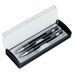 Set pix si creion mecanic cu etui transparent, pasta neagra, mina 07