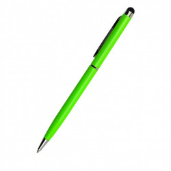 Stylus de precizie cu Pix incorporat, Verde, universal