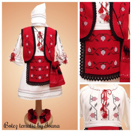 Costum Traditional Moldovenesc