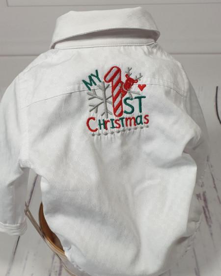 Camasa My first Christmas