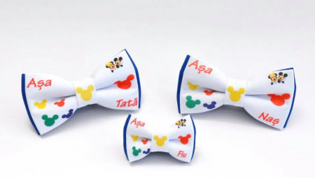 Set 3 papioane Mickey și Minnie Mouse