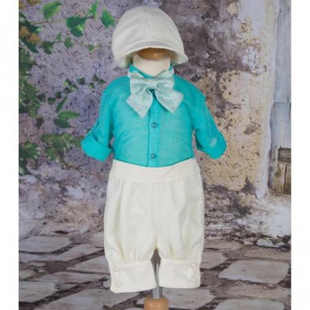 Costum Botez Turquoise