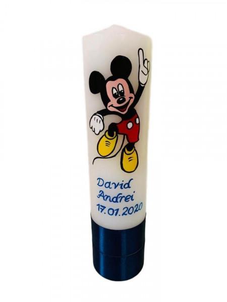 Lumânare botez pictată cu Mickey Mouse 5