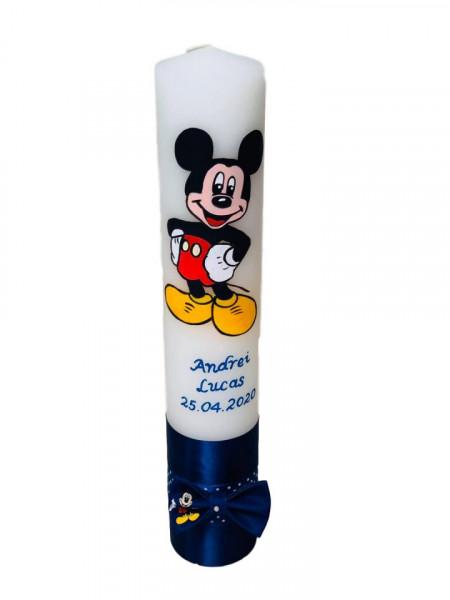 Lumânare botez pictată cu Mickey Mouse 3