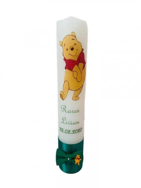 Lumânare botez Winnie the Pooh