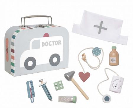 Trusa medicala pentru copii-argintiu