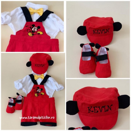 Costum Botez Mickey Mouse