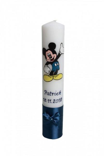Lumânare botez pictată cu Mickey Mouse 2