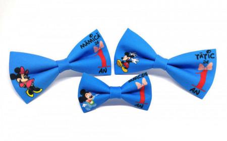 Set 3 papioane Mickey, Minnie și Baby Mickey