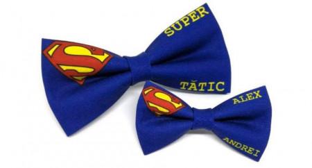 Set papion tata-fiu Supererou