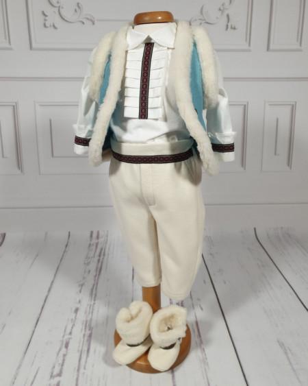 Costum Botez Baieti traditional Leonard