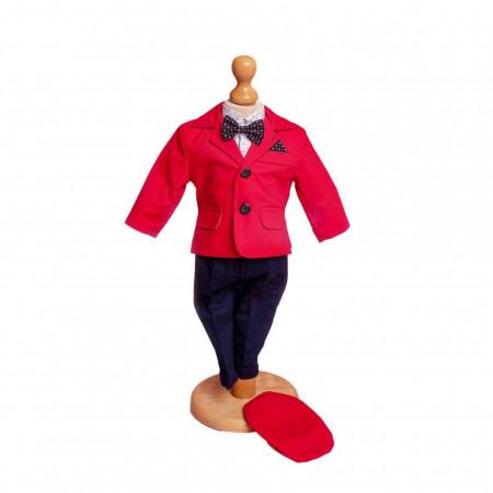 Costum Botez Matei Rosu
