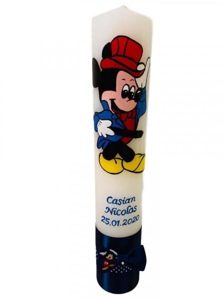 Lumânare botez pictată cu Mickey Mouse 4