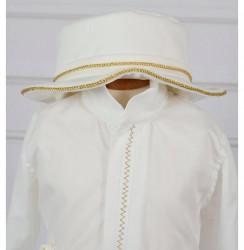 costum elegant pentru botez