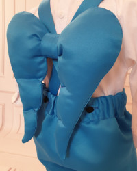 Costum Botez Baieti cu aripi de îngeras Figo