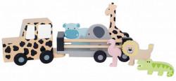 Jeep Safari din lemn- JaBaDaBaDo