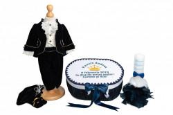 Trusou botez complet Micul Prinț bleumarin