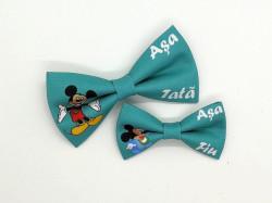 Set 2 papioane tata-fiu Mickey Mouse