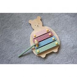 Xilofon pentru copii din lemn - JaBaDaBaDo
