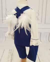 Costum Botez Baieti cu aripi de îngeras Antoine