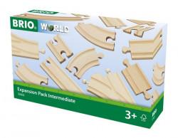 Pachet șine din lemn - BRIO