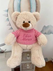Ursuletul Toto roz, personalizat