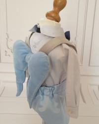 Costum Botez Baietei cu aripi de îngeras Exupery