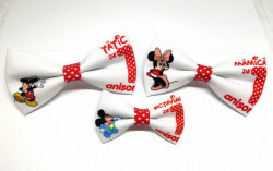 Set 3 papioane Mickey și Minnie Mouse
