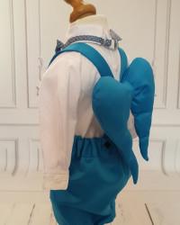 Costum botez cu aripi de îngeras Figo