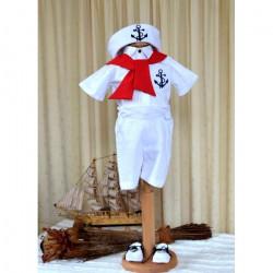 Costum Botez Micul Marinar Model Vara