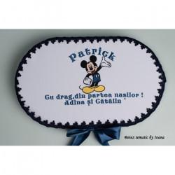 Trusou botez complet Mickey Mouse bleumarin 2