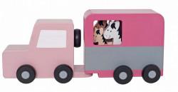 Camion cu cai din lemn- JaBaDaBaDo
