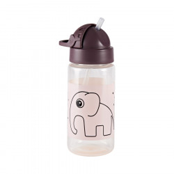 Sticlă pentru apă 330 ml- roz Done by Deer