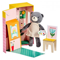 Beatrice The Bear- Petit Collage