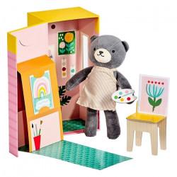 Beatrice The Bear- Petit Collage