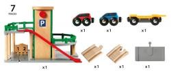 Parcare supraetajată din lemn - BRIO