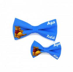 Set 2 papioane tata-fiu Winnie the Pooh