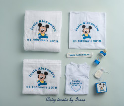 Trusou botez complet Baby Mickey