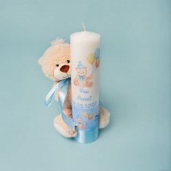 Trusou botez Ursuleț cu baloane