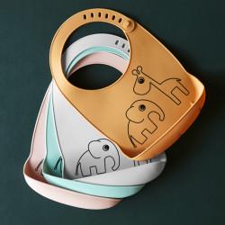 Bavețică gri din silicon- Done by Deer