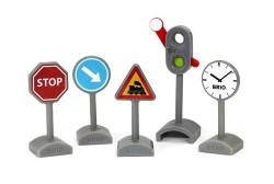 Set semne de circulație- BRIO